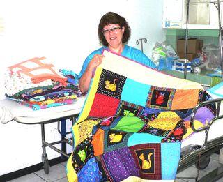 Bonnie Dwyer & quilts