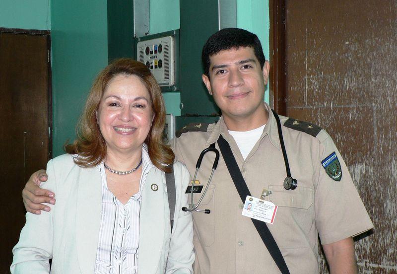 Sandra & Dr. Diaz