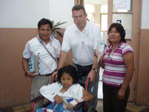 Ken Funk w/ Alejandra Bobadilla Carita and parents
