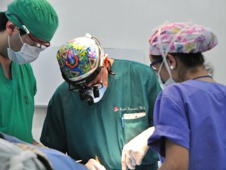 1.31 Dr Capozzi in surgery