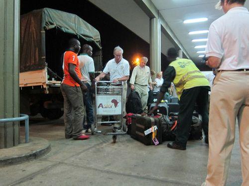 1st night Togo Airport