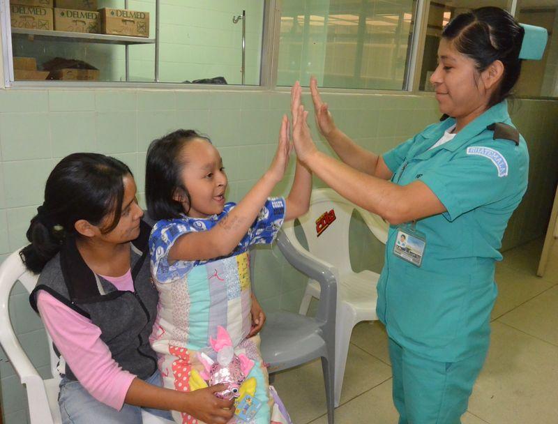 Norma and Nurse Ophelia