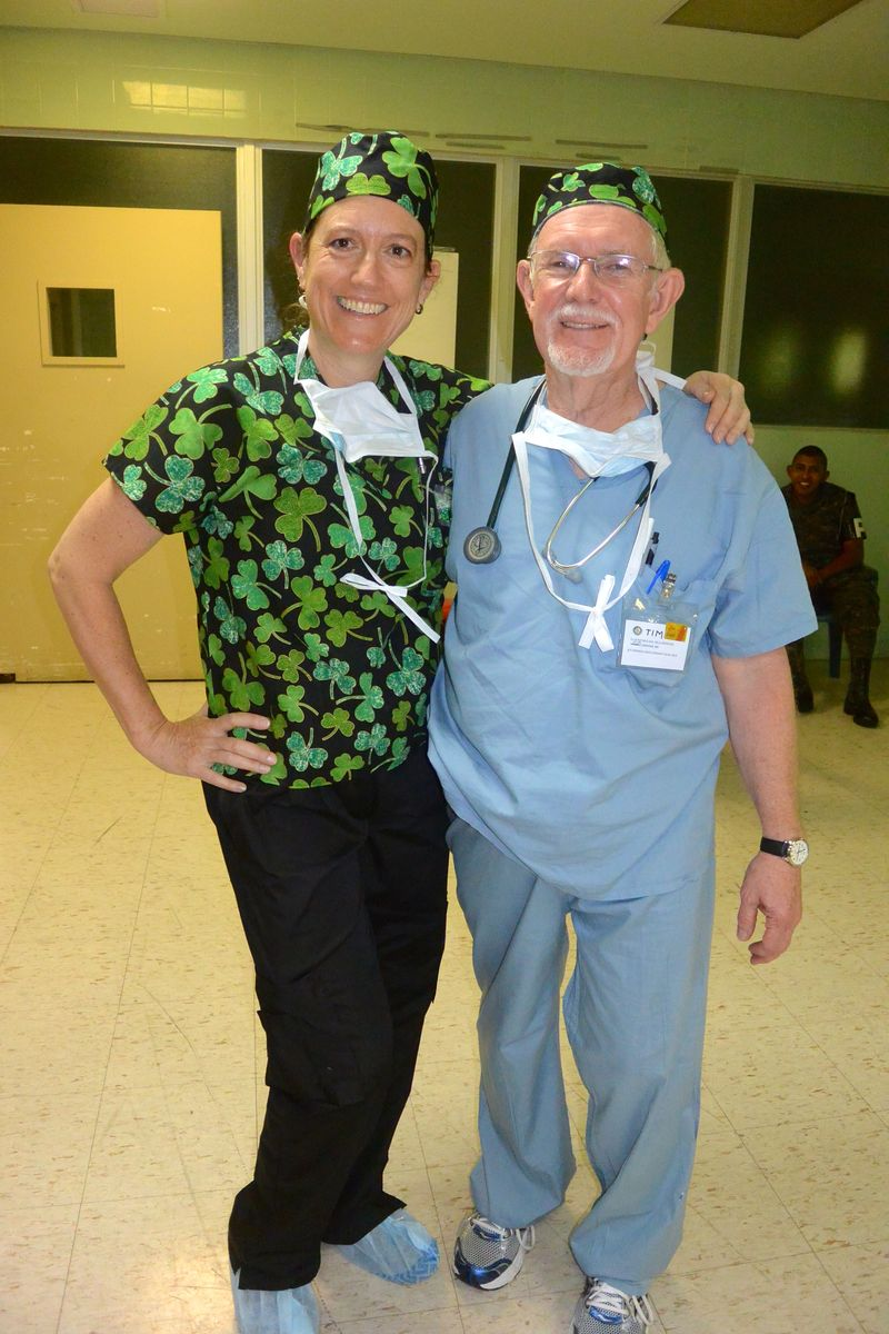 Julie and Dr. Tim