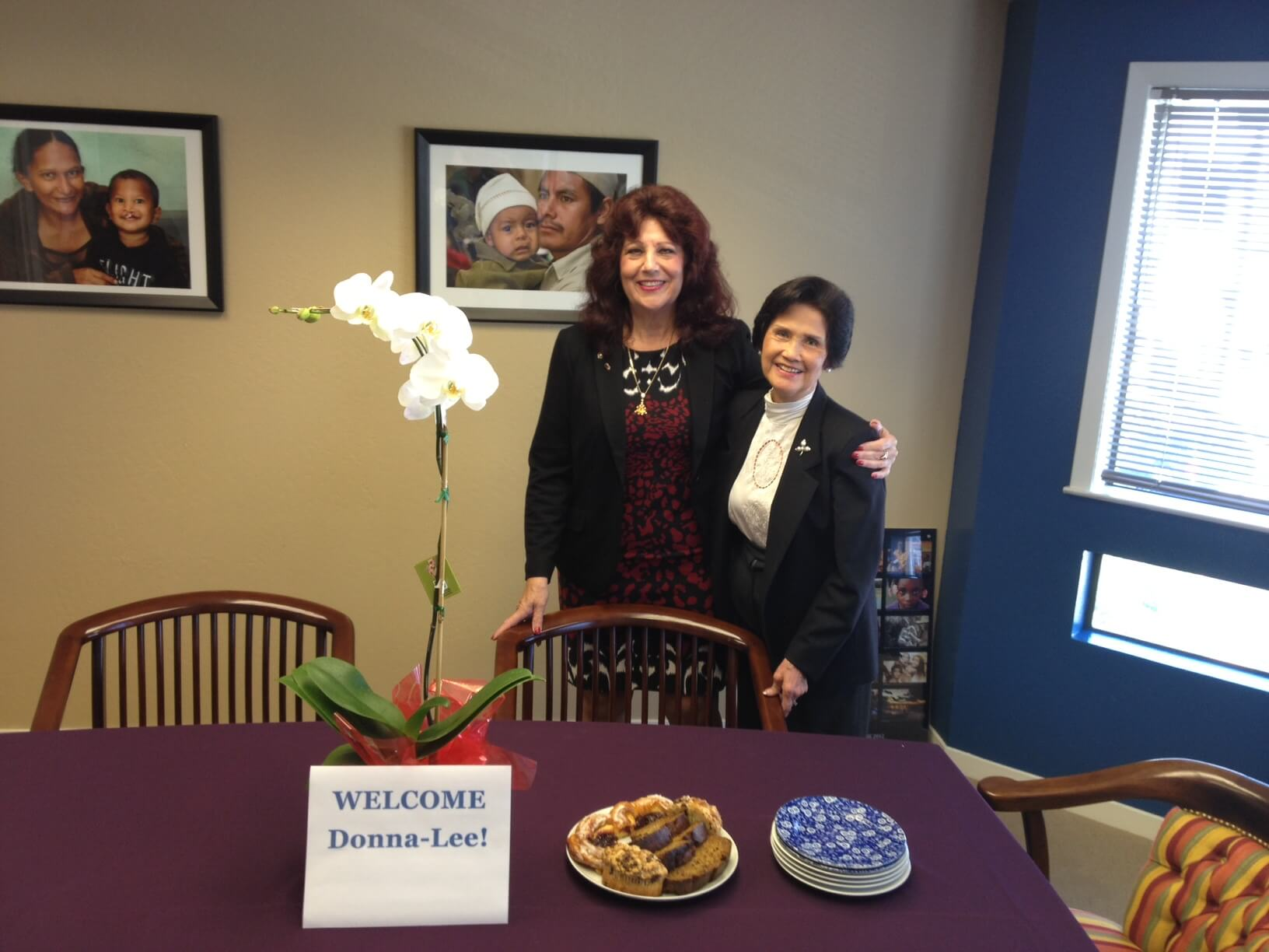 Welcoming new Executive Director PDG Donna-Lee Young Rubin