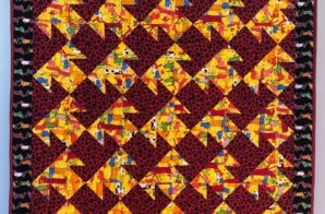 Quilt in tribute to Terry
